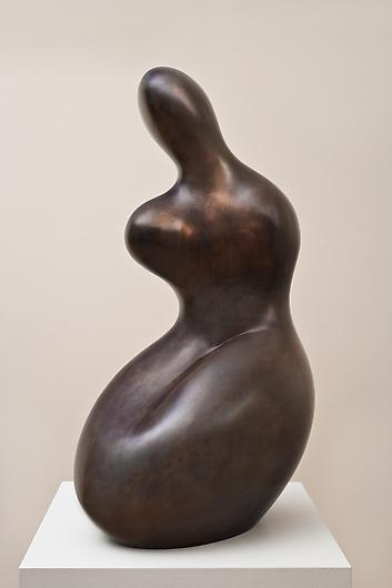Jean Arp, Demeter in dark patina