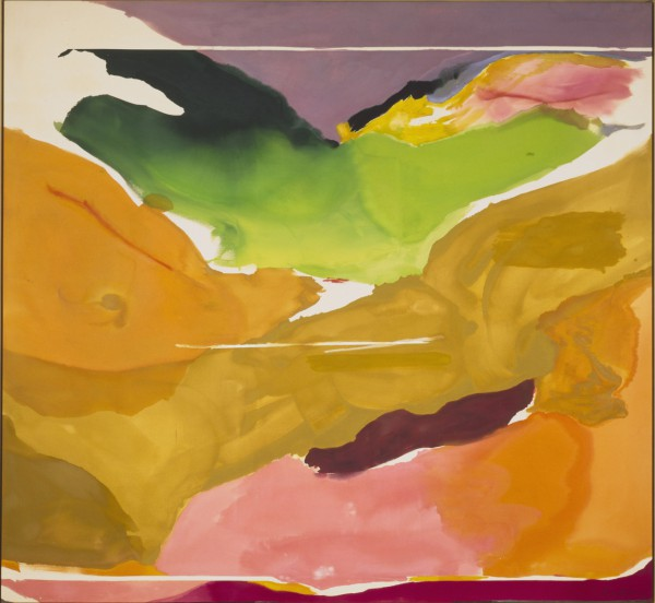 Helen Frankenthaler, Nature Abhors a Vacuum, 1973. Patrons' Permanent Fund and Gift of Audrey and David Mirvish, Toronto, Canada. National Gallery of Art, Washington DC