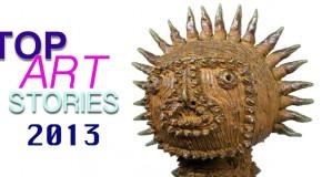 top art stories 2013