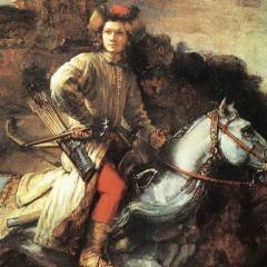 Rembrandt van Rijn, The Polish Rider, 1655