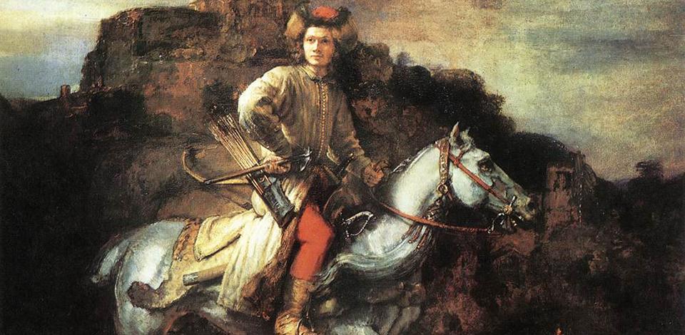 Rembrandt van Rijn, The Polish Rider, 1655