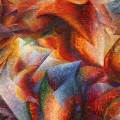 Umberto Boccioni, Dynamism of a soccer player