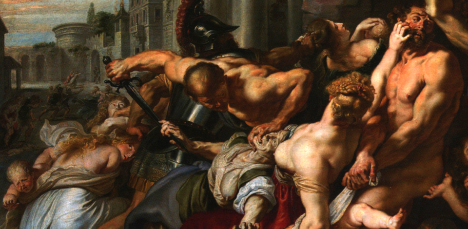 Peter Paul Rubens, Massacre of the Innocents, 1611 - 1612
