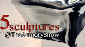 5 sculptures At The Armory Show