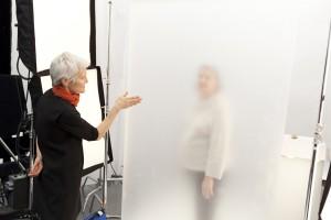 Ann Hamilton Artist in Residence at The Art Show 2014. Image courtesy Ann Hamilton Studio