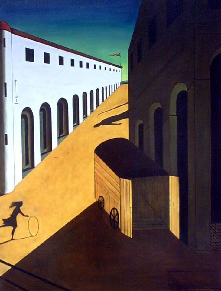 mystery and melancholy of a street The guardian - back to home  and deepens the mystery,  there is a little thin girl skipping in a rope held by a melancholy picassoesque bull.