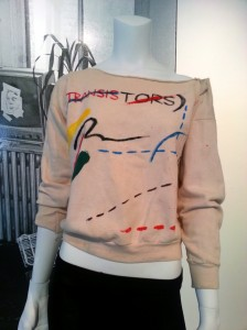 Jean-Michel Basquiat, Christie's reception, Transistors Sweatshirt