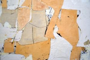 Conrad Marca-Relli, detail of a collage on canvas. Image © Kristina Nazarevskaia