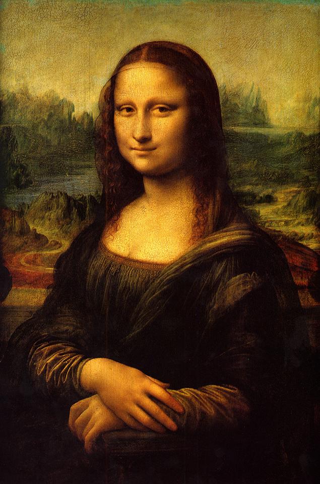 the mona lisa Mona lisa, oil painting on a poplar wood panel by the italian painter, draftsman,  sculptor, architect, and engineer leonardo da vinci, probably the world's.