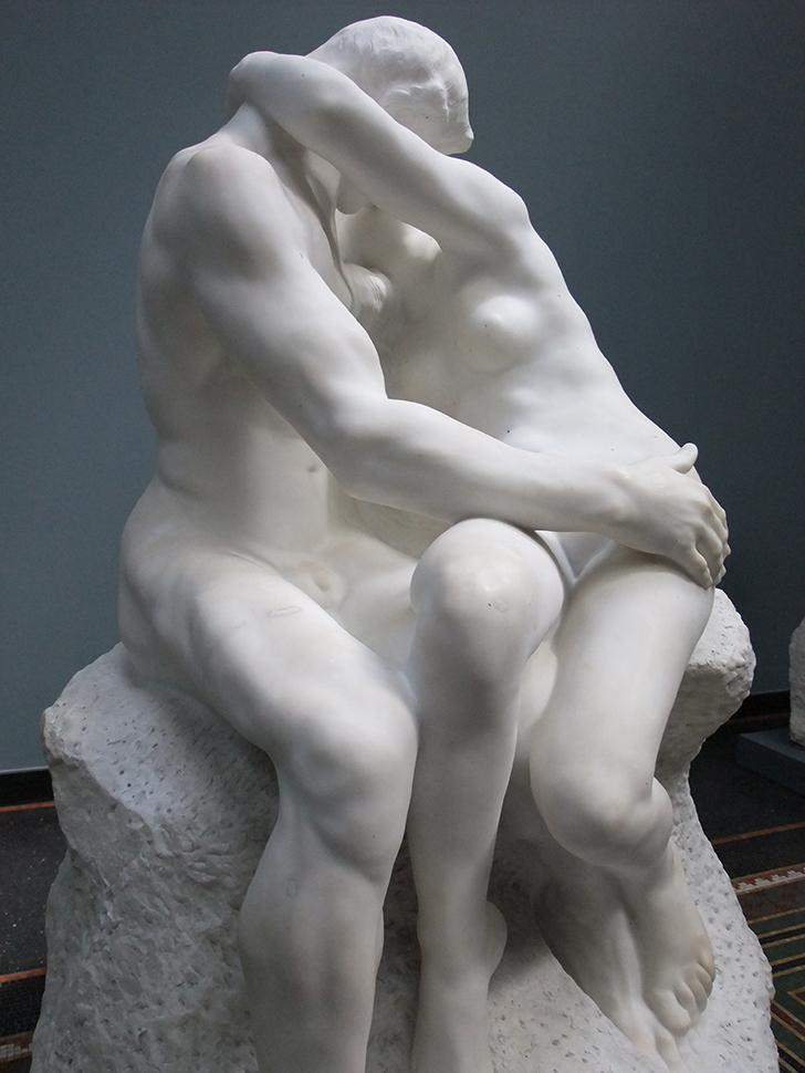 naked man licks girls