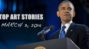 Top Art Stories, March 3, 2014