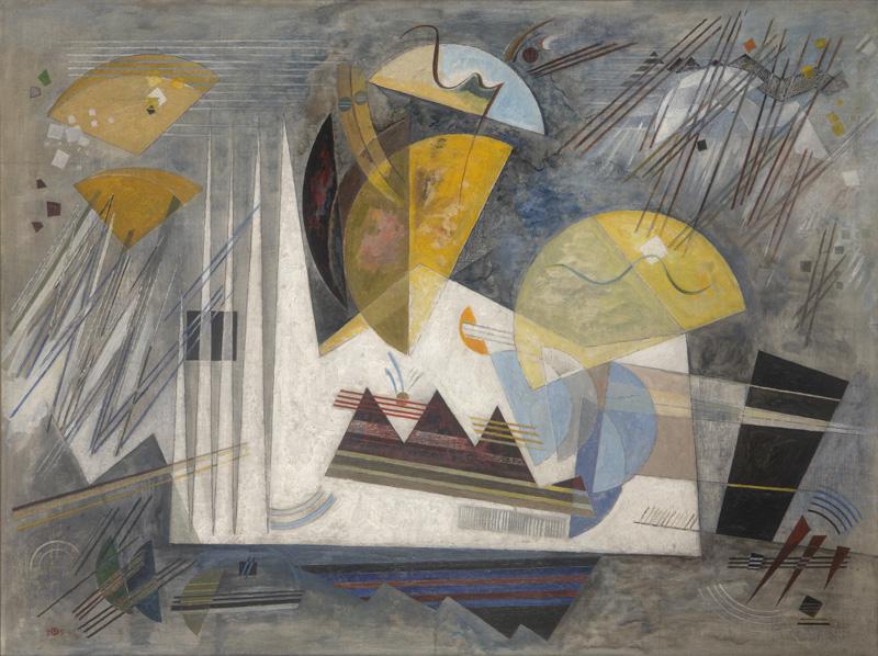 Werner Drewes, Winterlich, 1935