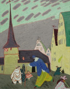 Feininger, Karneval in Gelmeroda II
