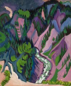Ernst Ludwig Kirchner, Im Sertigal