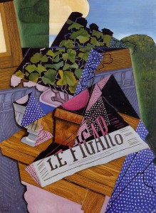 Juan Gris, Le Pot de Geranium, 1915. Image © Christie's Images, Ltd.