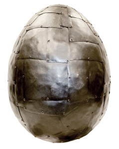 JAMES DEMARTIS, Armour Egg, 2014, Faberge Big Egg Hunt NY