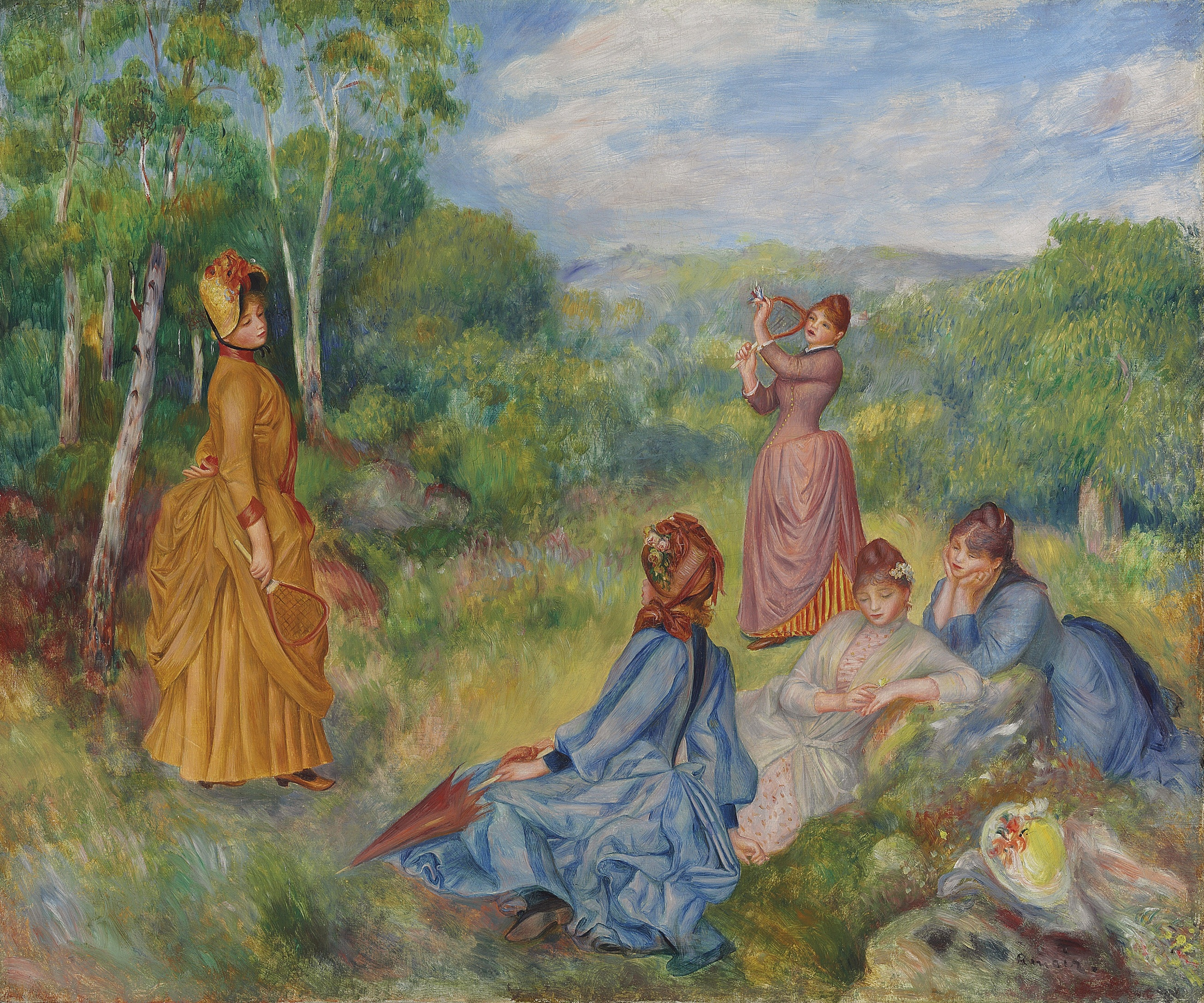 Spring impressionist and modern evening sales top pics for Auguste renoir