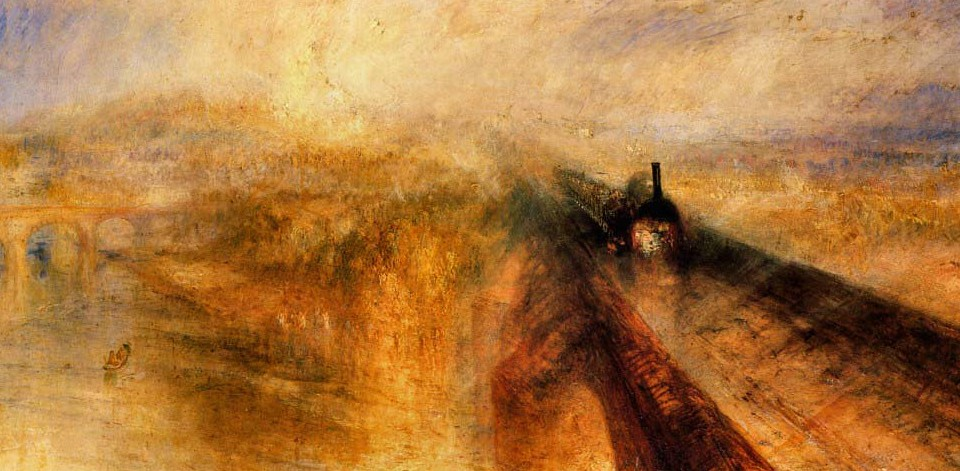 Rain, Steam And Speed By John Mallord William Turner