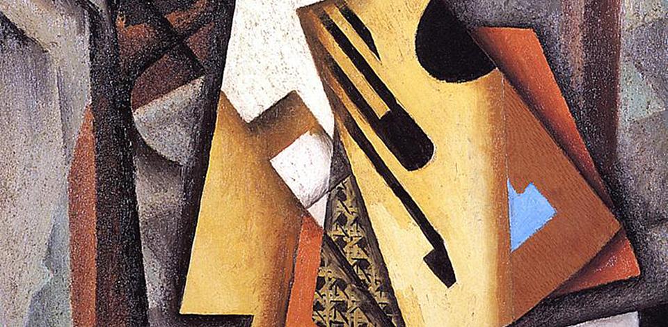 Juan Gris, Guitar on a Chair, 1913