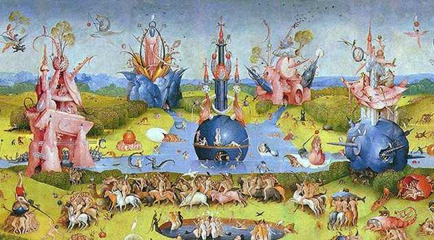 Garden of earthly delights by hieronymus bosch galleryintell for The garden of earthly delights