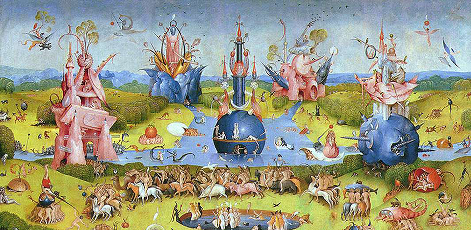 Garden of Earthly Delights by Hieronymus Bosch galleryIntell