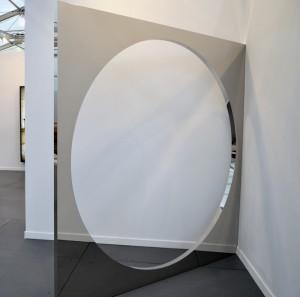 Jeppe Hein Corner Wall at 303 Gallery, Frieze Art Fair