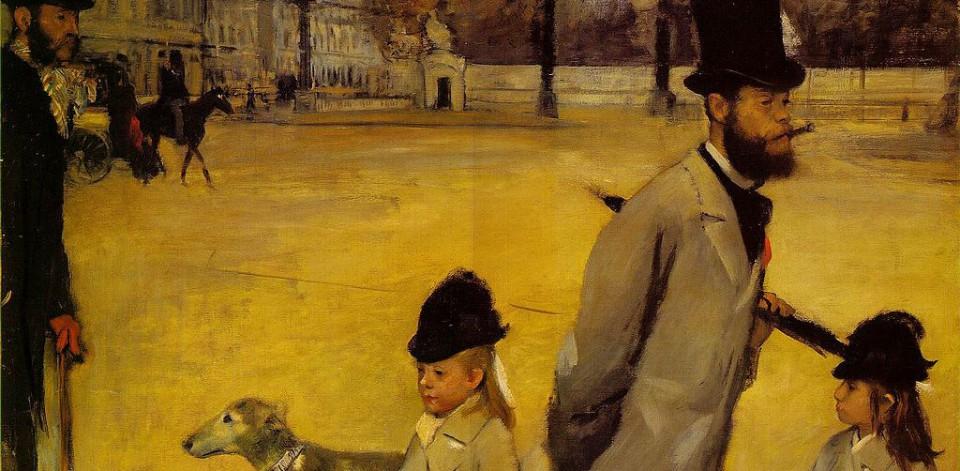 Edgar Degas, Place de la Concorde