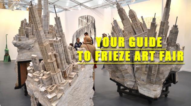 Guide to frieze art fair