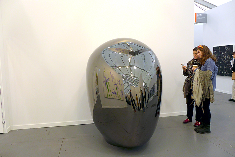 Not Vital, Head (LiGao), 2013 Galerie Thaddaeus Ropac, Austria, Frieze New York 2014