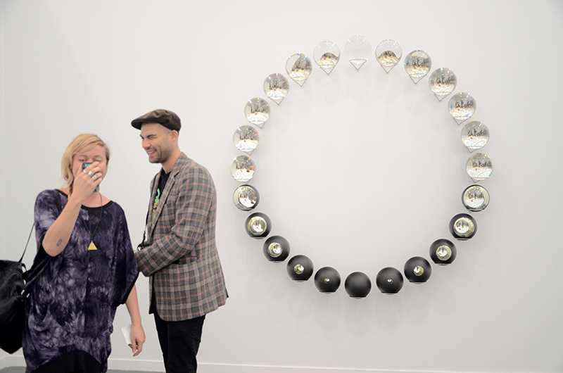 Olafur Eliasson, Your Lost Outside, 2014 Tanya Bonakdar, Frieze New York 2014