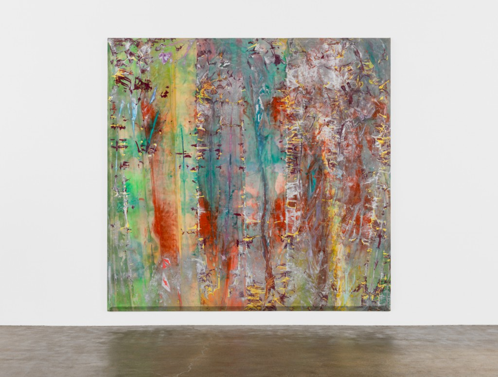 Sam Gilliam, Whirlirama, 1970. Image courtesy David Kordansky Gallery, Los Angeles. Frieze New York