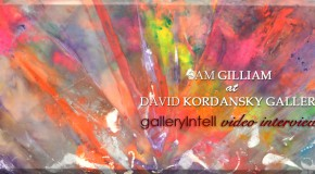 Sam Gilliam, David Kordansky Gallery, Frieze New York