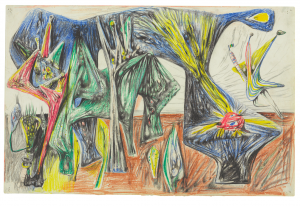 Roberto Matta, The Horoscope, 1937. Image courtesy Christie's Images, Ltd.