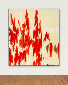 Clyfford Still, PH-1033, 1976. Image courtesy Christie's Images, Ltd.