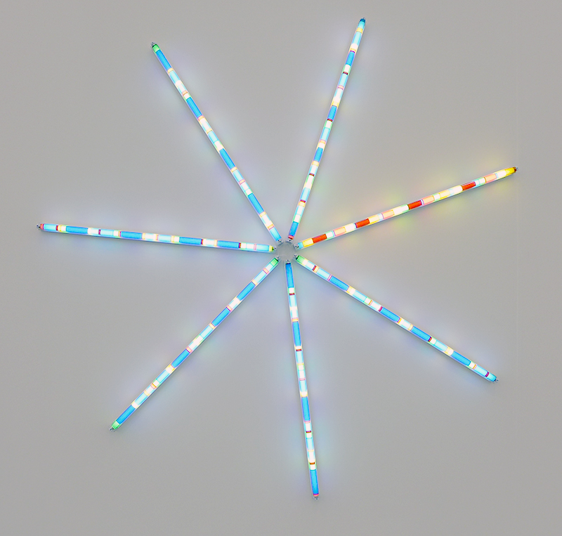 Spencer Finch, Starlight (Orion), 2014 Lisson Gallery, London, Frieze New York 2014