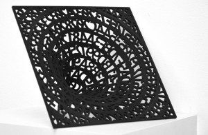 Ashley Zelinskie, Singlularity, 3-D Print. Photograph by Kristina Nazarevskaia