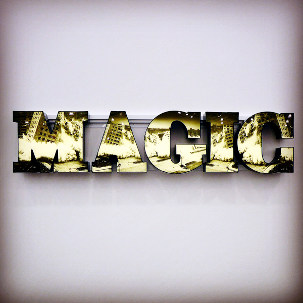 Doug Aitken, Magic, 2014 at Regen Projects. Photograph by Kira Sidorova
