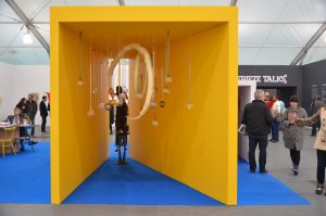 Interactive installation at Frieze Art Fair in NYC. Image © Kristina Nazarevskaia for galleryIntell