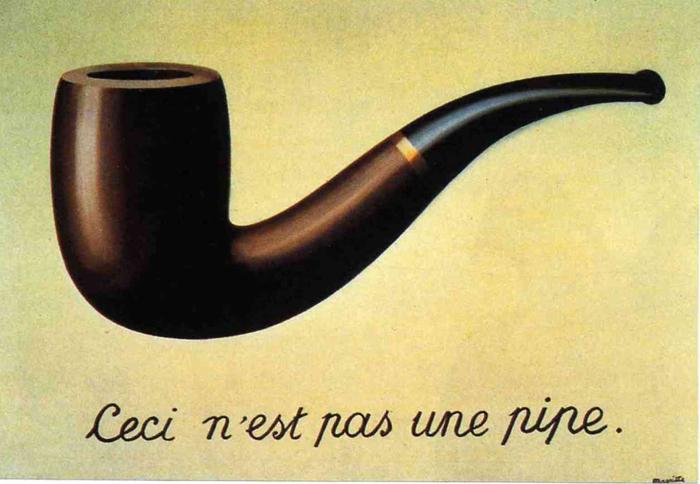 Renee Magritte, Ceci N'est Pas Une Pipe