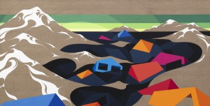 Eske Kath, acrylic on linen
