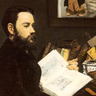Manet, Portrait of Zola