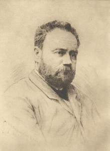 Edouard Manet, 'Portrait of Emile Zola'