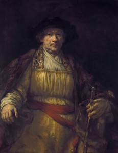 Rembrandt van Rijn  (1606 - 1669)  Self-Portrait, 1658