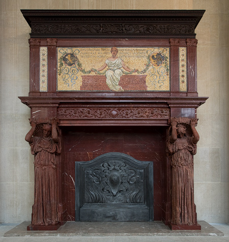 Vanderbilt Mantelpiece, ca. 1881–83. Image – The Metropolitan Museum of Art
