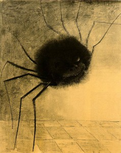 Odilon Redon, The Smiling Spider, 1881