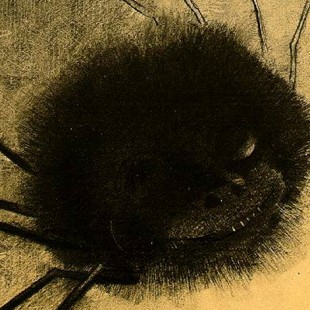 Odilon Redon_The Smiling Spider_cropped