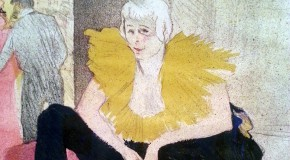 Toulouse-Lautrec MoMA, Seated Clowness