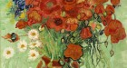 Vincent van Gogh, Still Life, Vase with Daisies and Poppies (1890) Photo- Sotheby's, Photo Sotheby's
