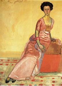 Ferdinand Hodler, Portrait of Gertrud Muller, 1911