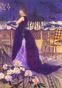 Henri-Edmond Cross, Madame Hector France, 1891